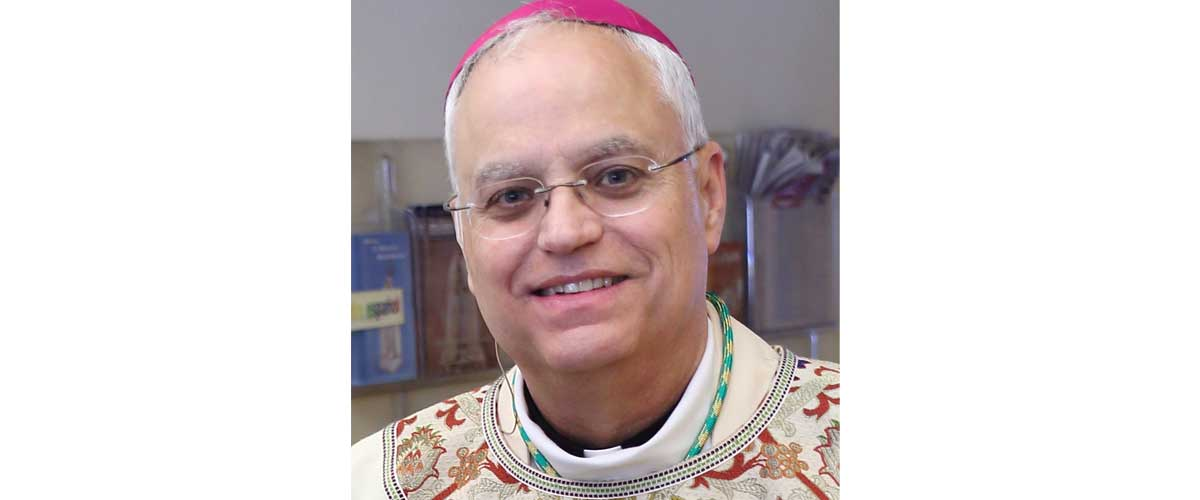 May letter from  Bishop Andrew Bellisario, C.M.
